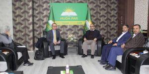 Almanya Büyükelçiliğinden HÜDA PAR Diyarbakır İl Başkanlığına ziyaret