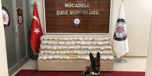 Van'da 62 kilo eroin maddesi ele geçirildi
