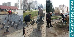 Kayapınar Belediyesinin çalışmaları devam ediyor
