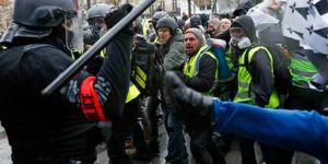 Fransa'da Sarı Yelekliler yine meydanlarda
