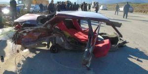 İslahiye'de kaza: 1 ölü 2 yaralı
