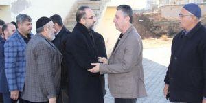 HÜDA PAR Genel Başkanı Sağlam'dan taziye ziyaretleri