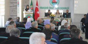 Viranşehir Ziraat Odası başkanlık secimi yapıldı