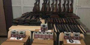PKK'ye yönelik operasyonda 29 adet av tüfeği ele geçirildi