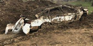 PKK'nin toprağa gömdüğü lüks araç bulundu