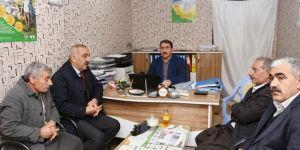 Hilvan Belediye Başkanı Aslan Ali Bayık'tan esnaf ziyareti