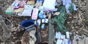 PKK'ye ait lav silahı ve patlayıcılar ele geçirildi