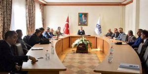 Malatya'da seçim güvenliği toplantısı yapıldı