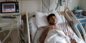 Syrian Mohammed expects a heart support device to live