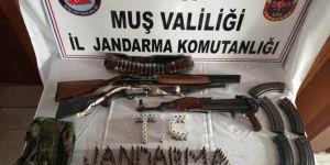 Muş'ta PKK ve uyuşturucu operasyonları