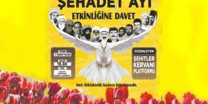Diyarbakır'da Şubat Ayı Şehadet Ayı etkinliği düzenlenecek