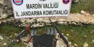 PKK'ye ait silah ve patlayıcı ele geçirildi