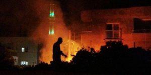 Yangında Suriyeli bebek hayatını kaybetti