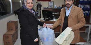 Siirt Belediyesinden pet şişeyi getir bez çantayı al