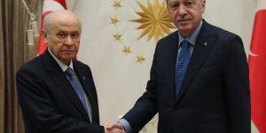 Cumhurbaşkanı Erdoğan Bahçeli'ye teşekkür etti