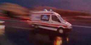 Ambulansın çarptığı öğretmen hayatını kaybetti