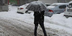 Muş yeniden yoğun kar yağışının etkisinde