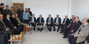 Nusaybin'de TOKİ'lerde ilk anahtar teslimi