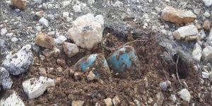 120 kilogramlık mayın düzeneği imha edildi