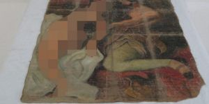 Diyarbakır'da Picasso'ya ait tarihi tablo ele geçirildi
