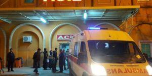 Kızıltepe'de otomobil ile motosiklet çarpıştı: 1 ağır yaralı