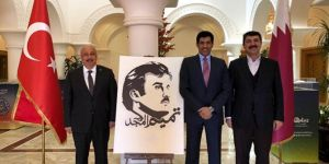 Batman Üniversitesi Rektörü Katar Ankara Büyükelçisini ziyaret etti