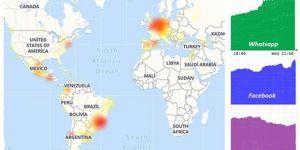 Facebook, Instagram ve Whatsapp'ta global sorun yaşanıyor