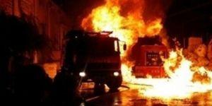 Diyarbakır'da köpük tabak fabrikasında yangın