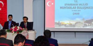 Diyarbakır Valisi Çınar'da