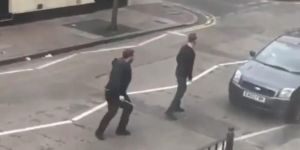Terrorists attack on Muslims in the UK