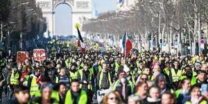 Fransa Sarı Yelekliler için daha sert önlemler alacak