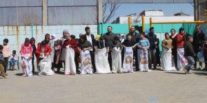 Cizre'de Down Sendromlu çocuklar doyasıya eğlendi