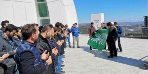 Üniversite öğrencileri Yeni Zelanda'daki cami katliamını kınadı