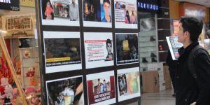 """""""Dünya Mustazaflar Haftası"""" resim sergisi açıldı"""
