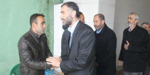 HÜDA PAR heyeti Cizre'de taziye ziyaretinde bulundu