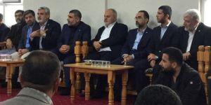 HÜDA PAR Genel Başkanı Sağlam'dan Özaslan ailesine taziye ziyareti