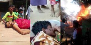Myanmar ordusu Arakanlılara yönelik katliamlarını sürdürüyor