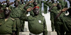 Sudan'da ordu devlet televizyonu binasına girdi