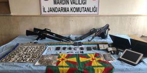 Mardin'de silahlı yağma operasyonu: 8 gözaltı