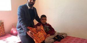 Bedensel engelli çocuk Siyer Sınavında Türkiye birincisi oldu
