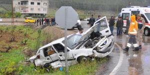 İslahiye'de kaza: 4 ölü 12 yaralı