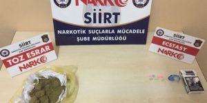 Siirt merkezli 3 ilde uyuşturucu operasyonu: 11 tutuklama