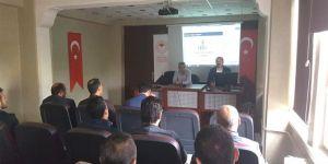 Siirt'te GTS bilgilendirme toplantısı gerçekleştirildi