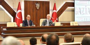 """Gaziantep'te devam eden 527 proje var"""