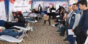 Kızılay'a 14 bin 402 ünite kan bağışı gerçekleştirdik