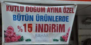 Diyarbakır'da esnaftan Mevlid etkinliği indirimi