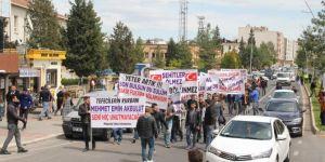 Midyat'ta halk tefeci ve uyuşturucu tacirlerine karşı ayaklandı
