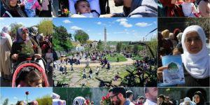 People were invited to Mawlid Al-Nabi with roses in Diyarbakır