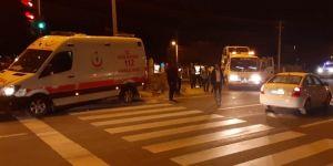 Nusaybin'de ambulans ile ticari araç çarpıştı: 3 yaralı