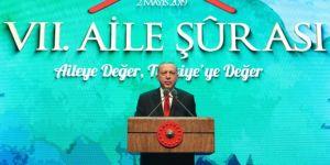 Erdoğan'dan medyaya mahremiyet ve ailevi değerler ikazı